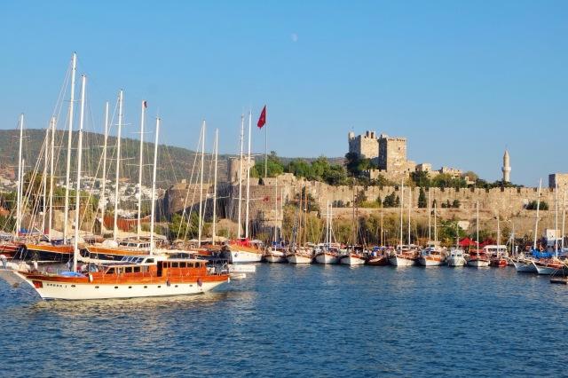 Ankomst til Bodrum, Tyrkiet efter farvel til de andre besætningsmedlemmer på Kos