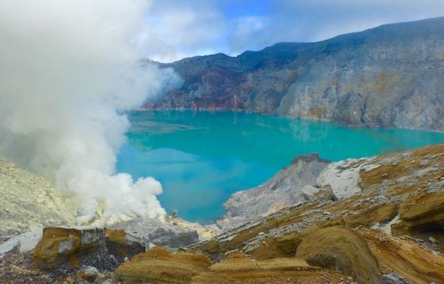 Den smukke Ijen kratersø