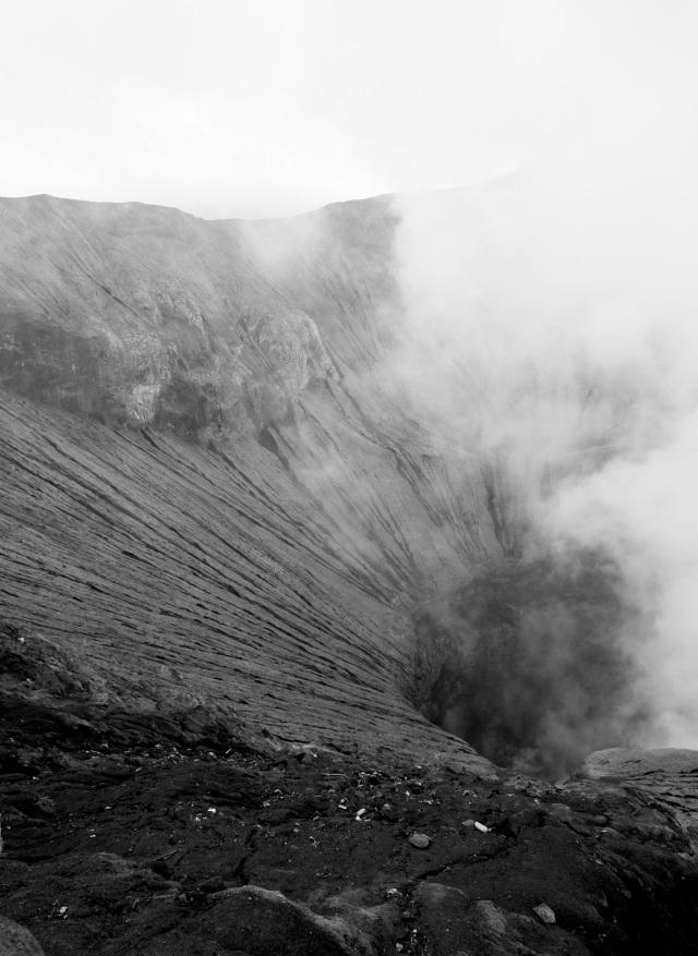 Mt. Bromos krater