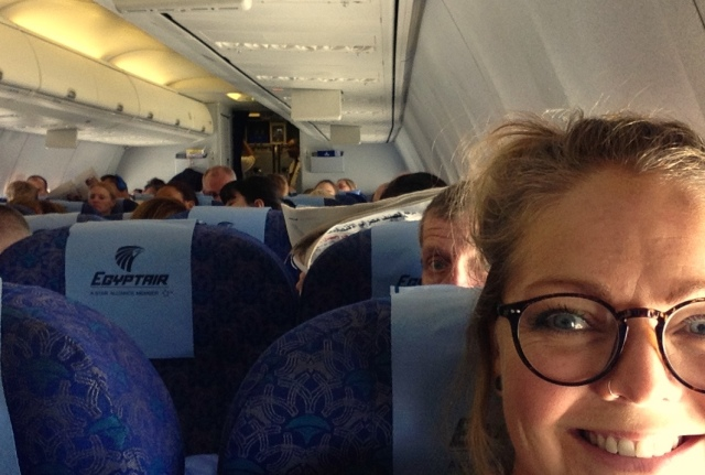 Last flight Cairo - Copenhagen