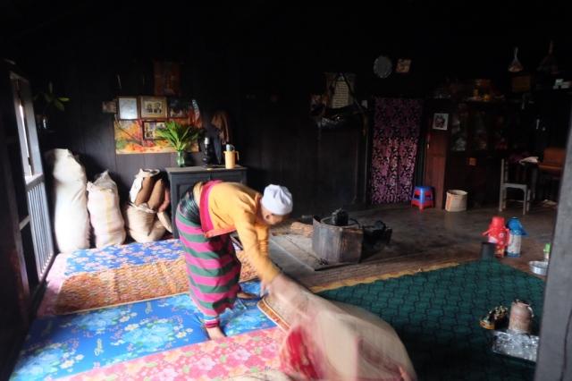 Myanmar, homestay